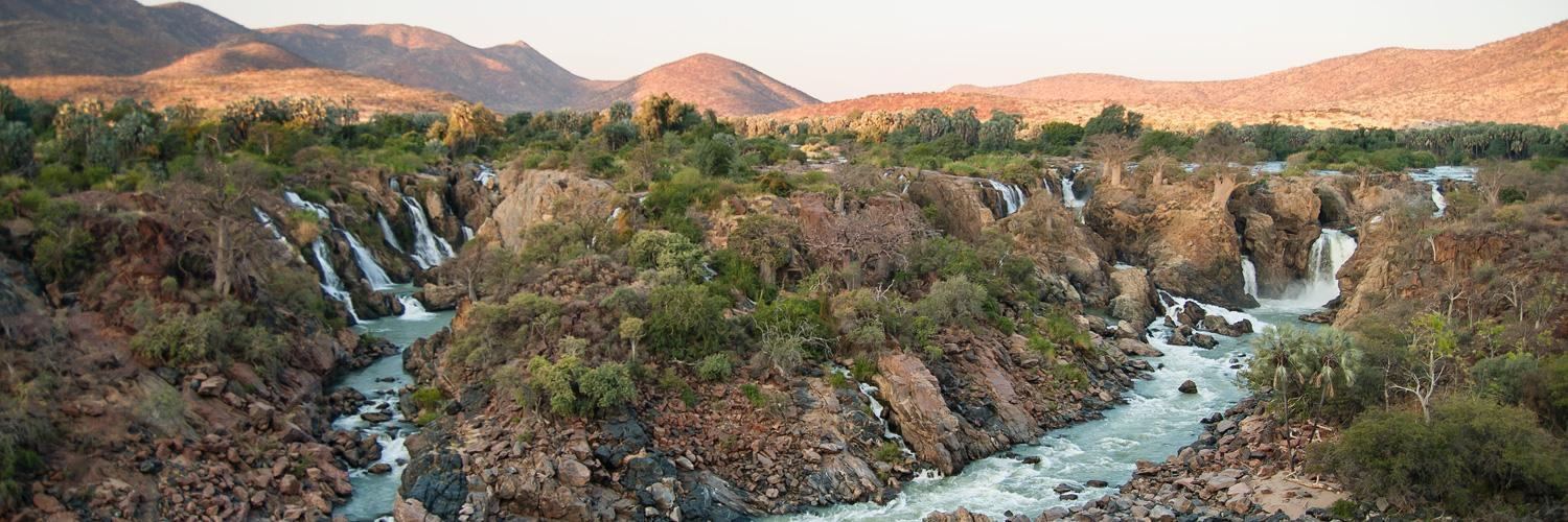 Rental Car Places >> Epupa Falls - Waterfalls of the Kunene in the north of the ...