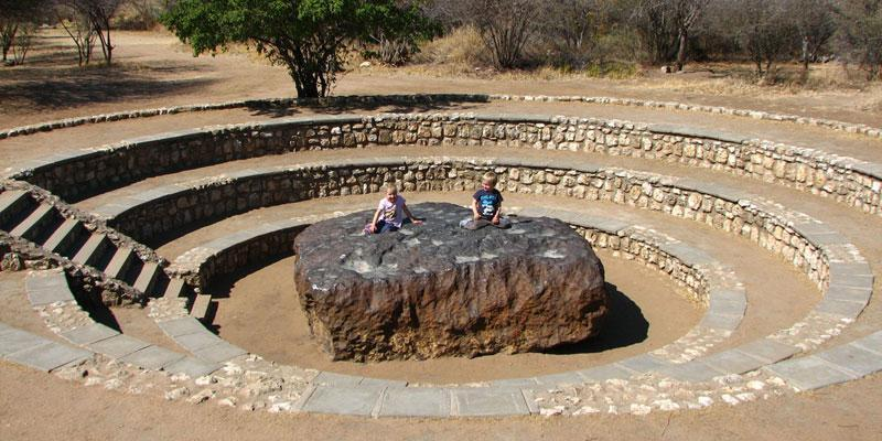 Hoba Meteorite - Biggest meteor that has been found on earth