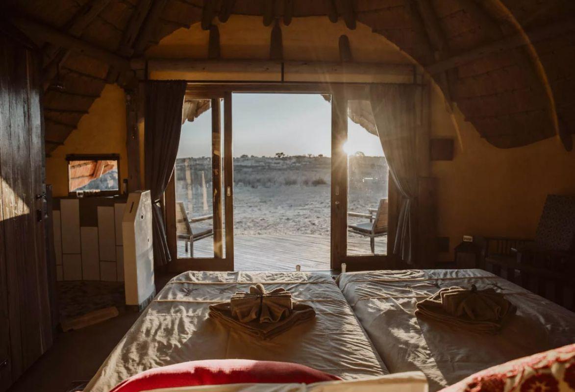 Zimmer im Dune-Camp