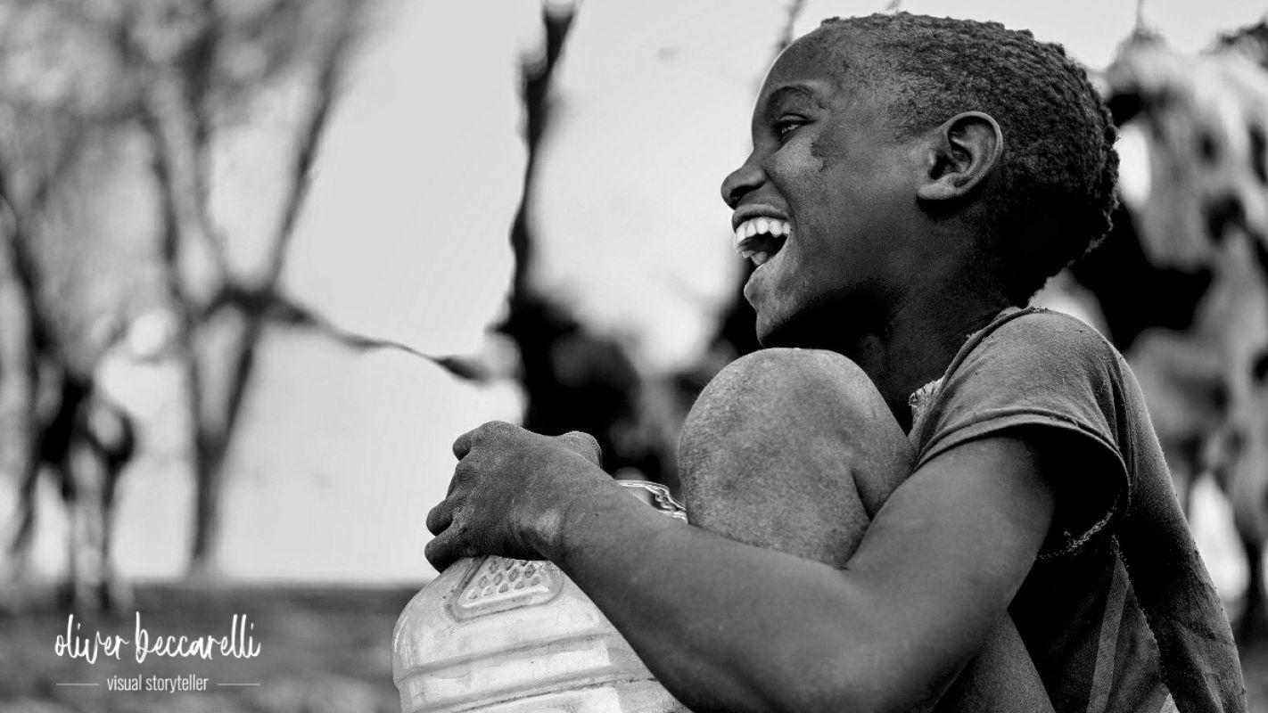 Richtig arm ist man erst, wenn man nicht mehr lachen kann