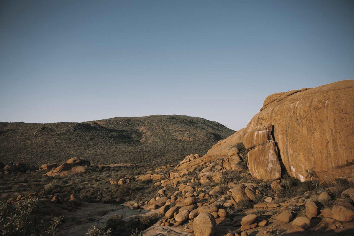 Erongo mountain range
