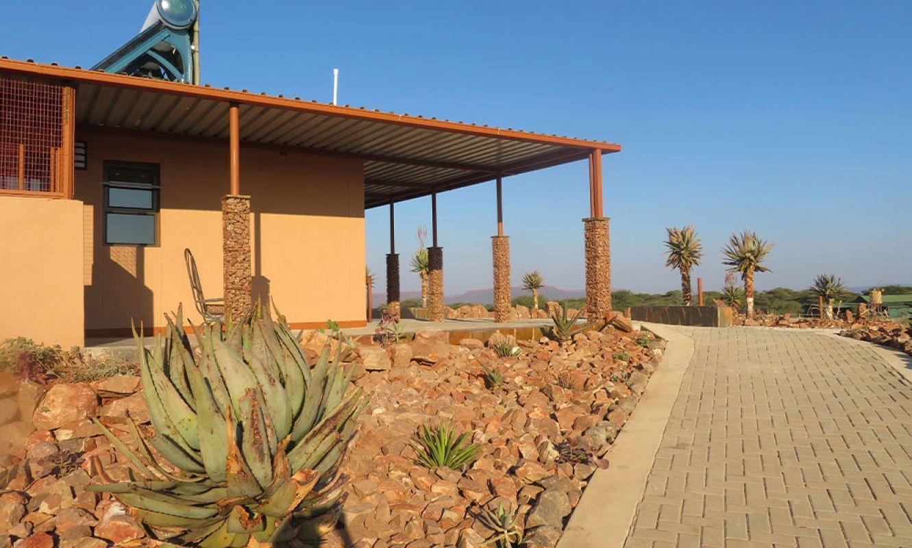 Affordable alternative: Cheetah View Lodge