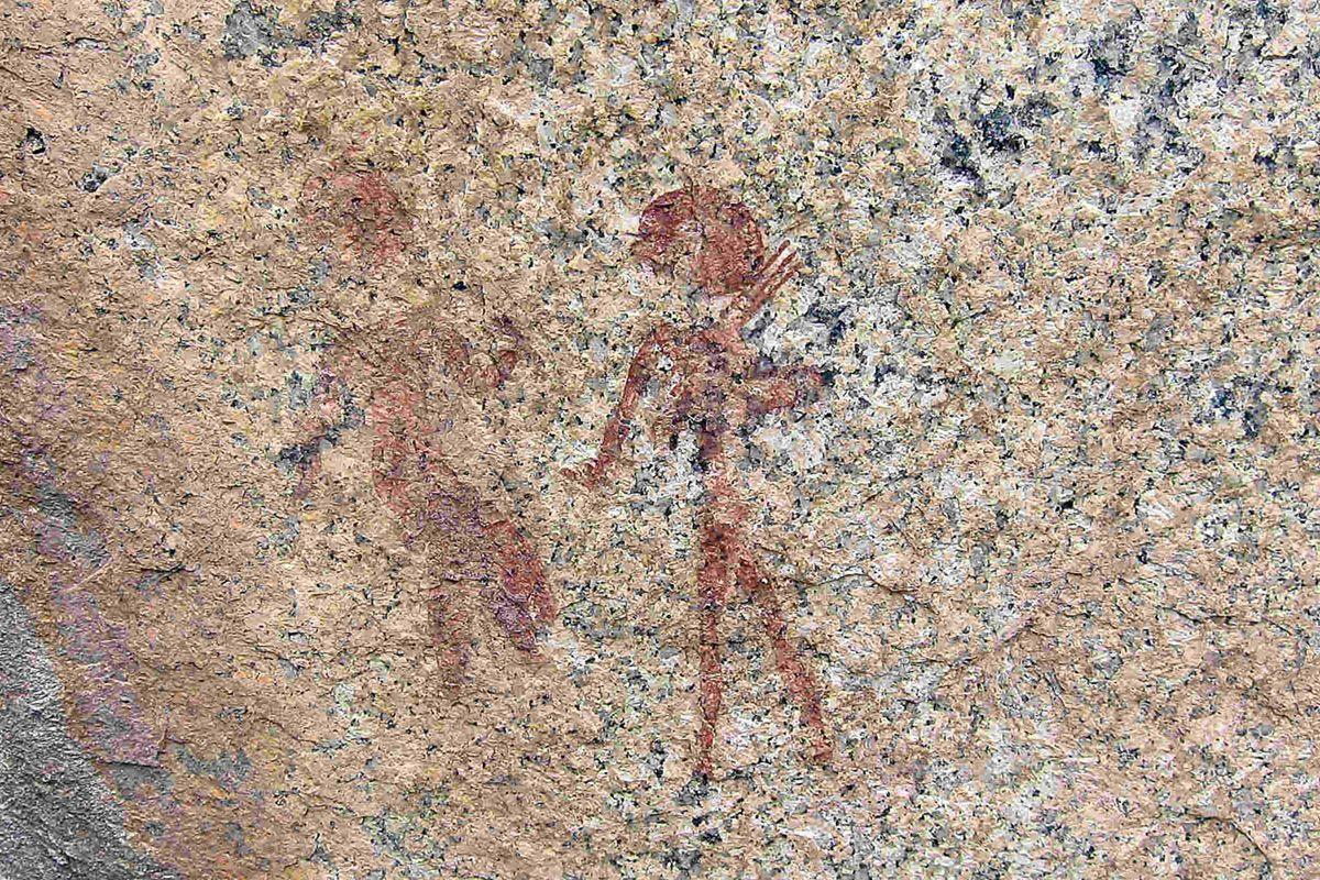 San rock paintings