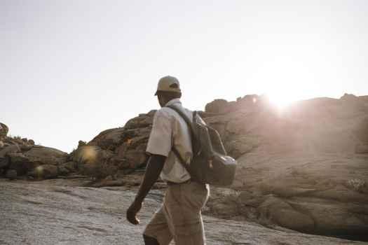 Wanderung um das Etemba Wilderness Camp