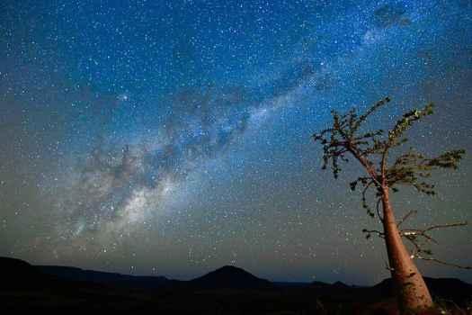 Namibischer Nachthimmel