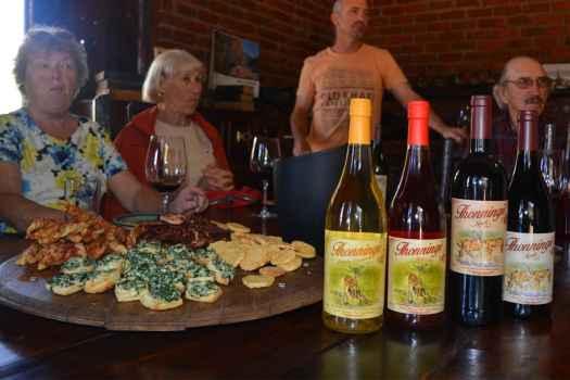 Winetasting tour