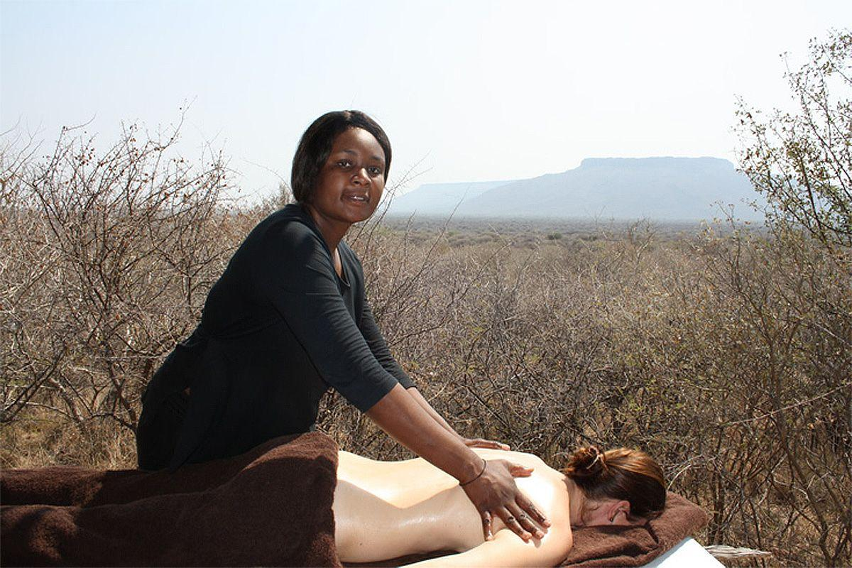 Massage at the Waterberg