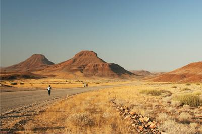 Travellers in the Damaraland
