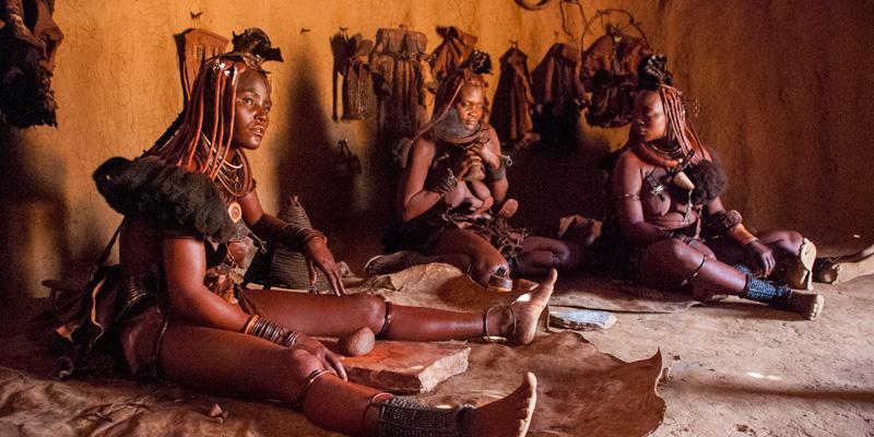 Lebendes Museum der Ovahimba
