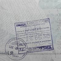 Visa and entry permit